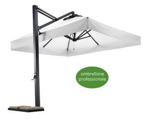 L'ombrellone professionale: materiali, finiture e pulizia