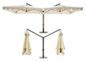 Le caratteristiche importanti per un'ombrellone da esterno