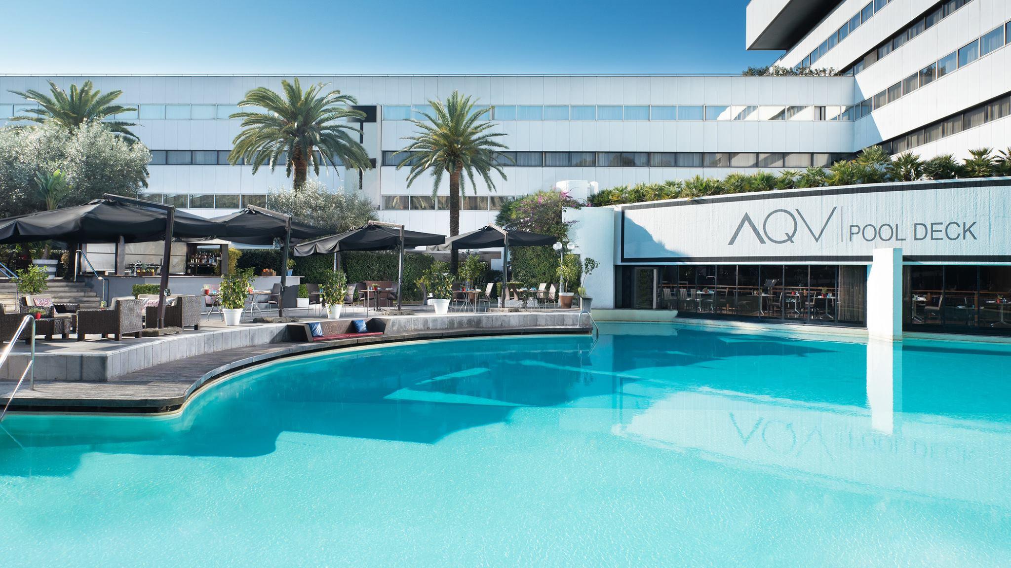 Sheraton roma hotel conference center ombrelloni for T green srl