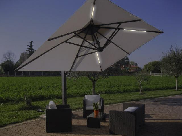 Luci per ombrelloni da giardino vivi i tuoi spazi green line s r l